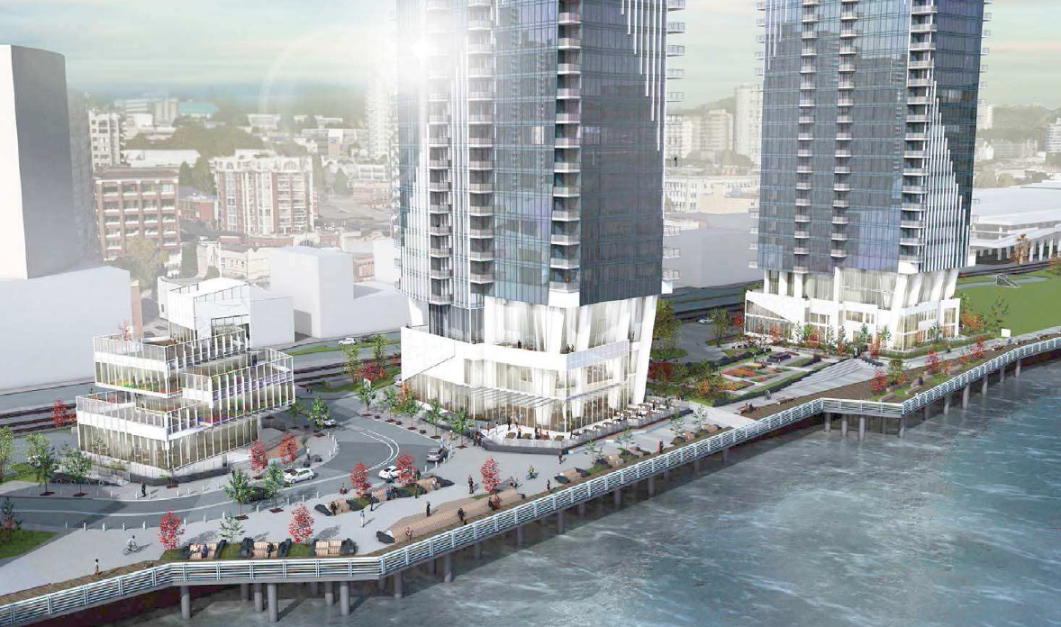 Pier West by Bosa Development 750 Quayside