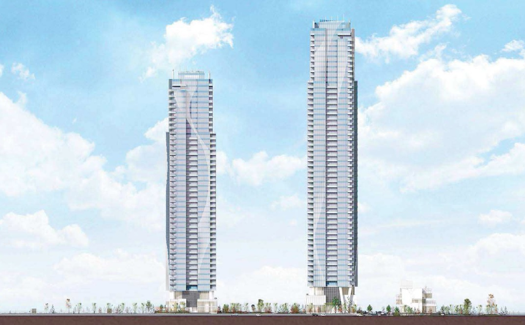750 Quayside Pier West by Bosa in New Westminster