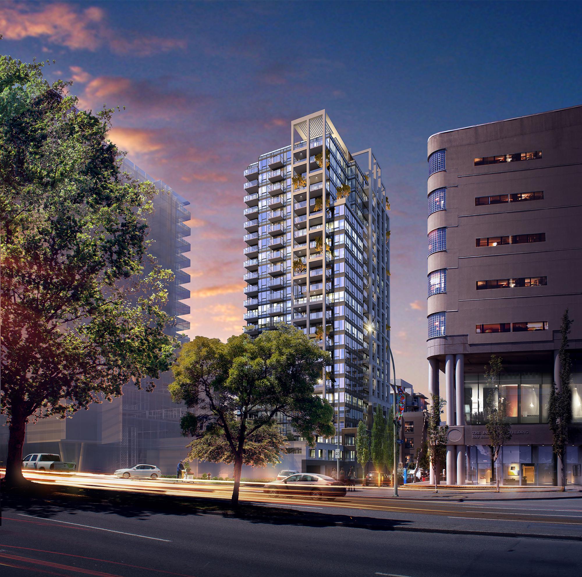 Hudson Place One- condo development in Victoria