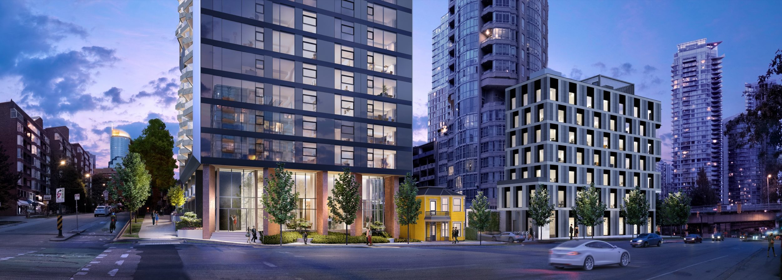 The Pacific by Grosvenor Condo Presale 1380-1882 Hornby St Vancouver