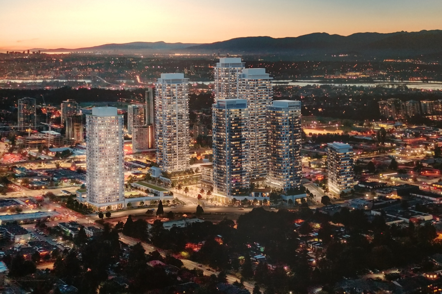Georgetown One Surrey City Centre condo presale nest Presales Canada