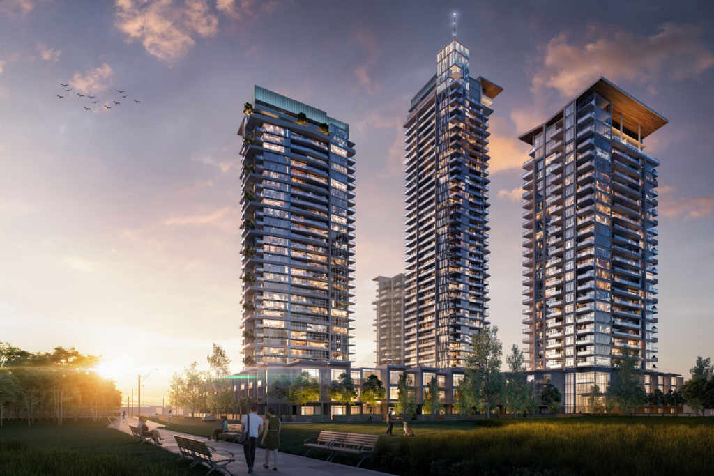 Eclipse at Lumina Brentwood Burnaby Centre Condo Presale 2019 Towers