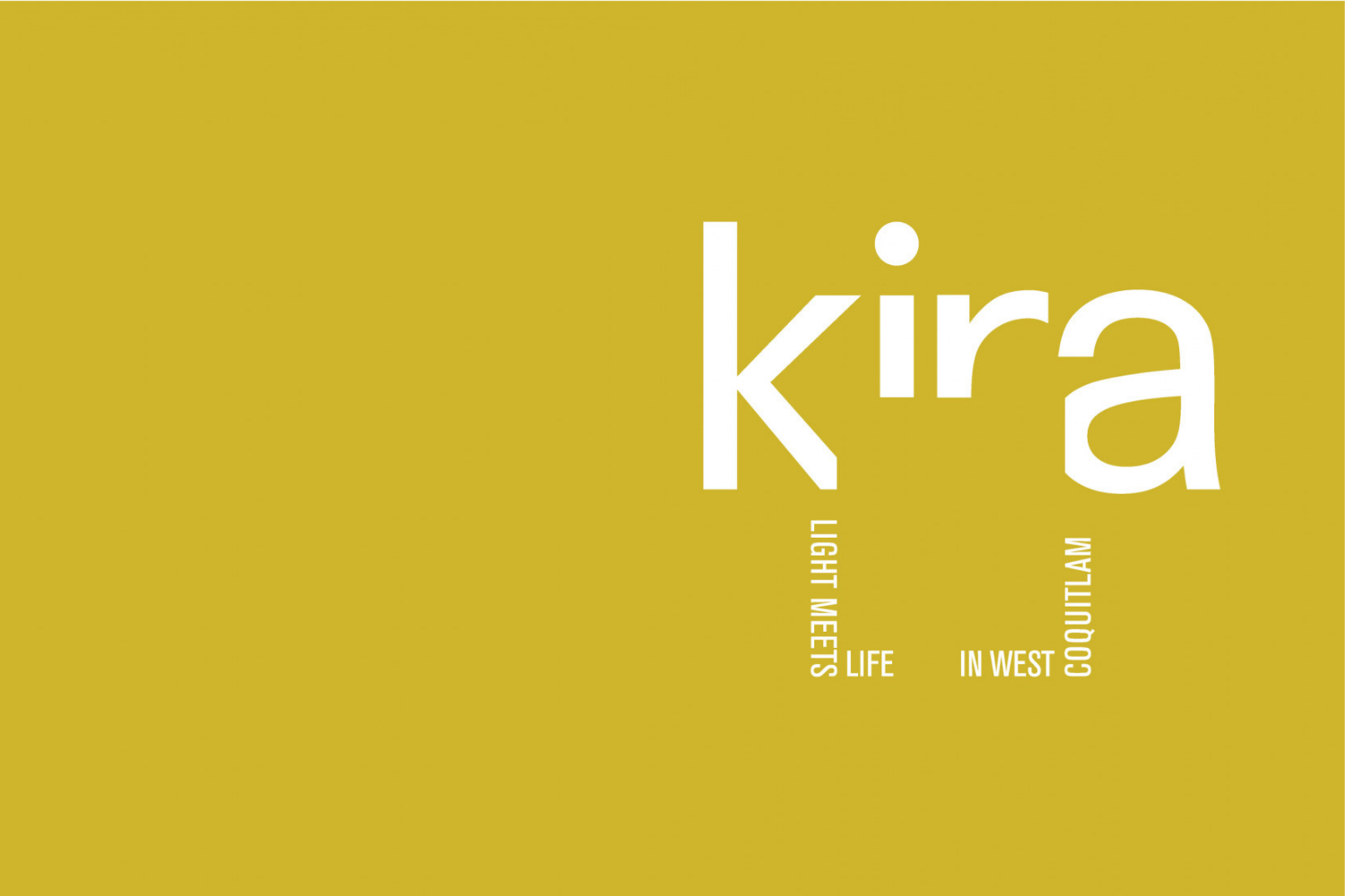 Kira West Coquitlam Woodbridge Homes contemporary homes presale logo