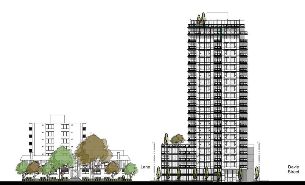 Davie & Nicola Vancouver Downtown new condo development sale