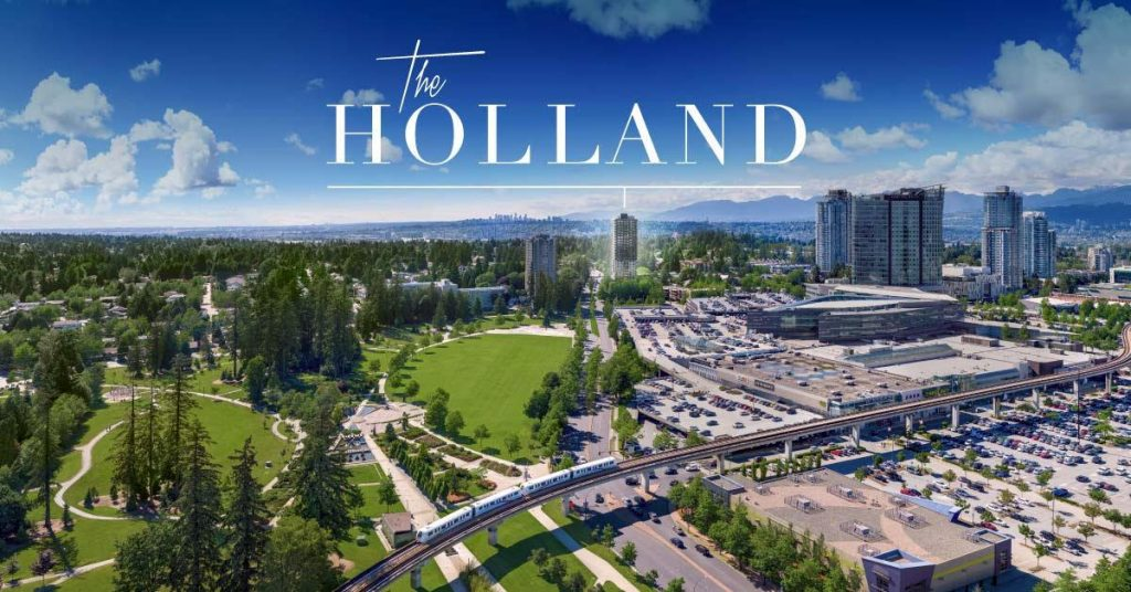 The Holland Surrey City Centre condos for sale Holland Park