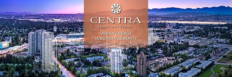 Centra high rise condo development Surrey BC 2019