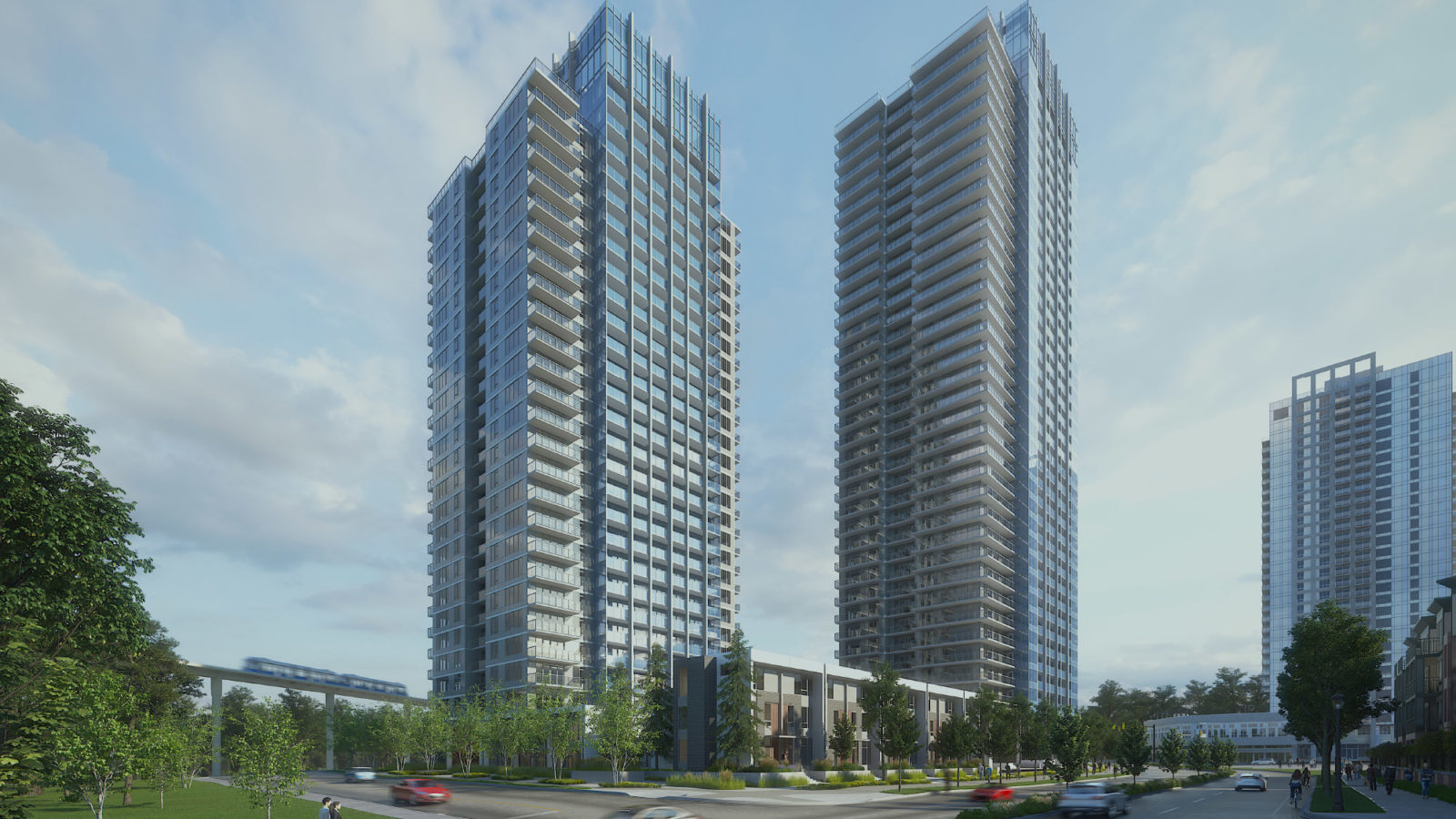 University District 2 in surrey Central condo development on sale