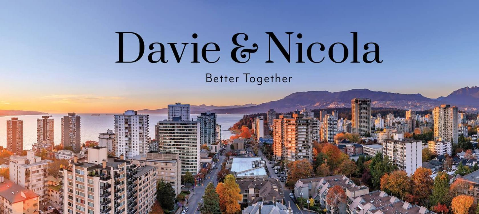 Davie & Nicola Vancouver Downtown new condo development sale