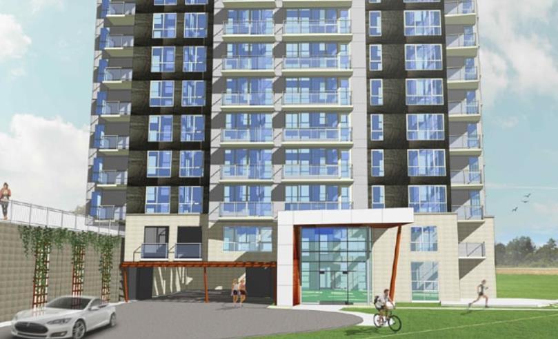Centra surrey city centre new development condo presale studio nest presales - front